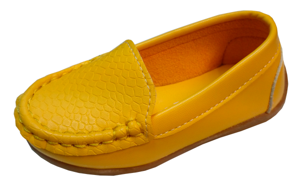 S168 Moccasin Softee Yellow EU21-30