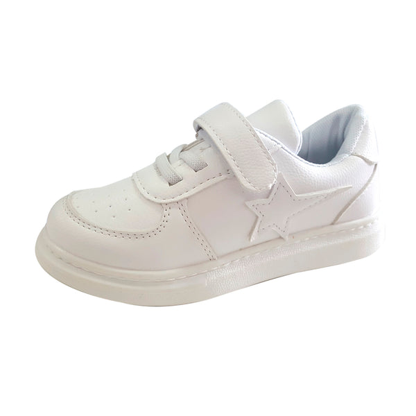 S2000 White School Shoes (EU26-34)