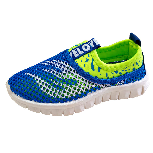 S171 Sports Mesh Blue (1-6y) (Aug New Arrival)