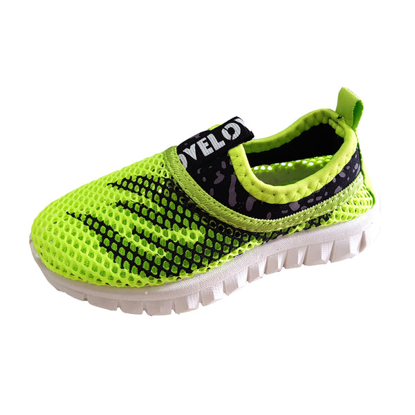 S171 Sports Mesh Green (1-6y) (Last Pair, Size 29)