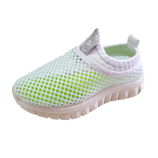 S170 Sports Mesh White (1-3y) Last Pair EU25