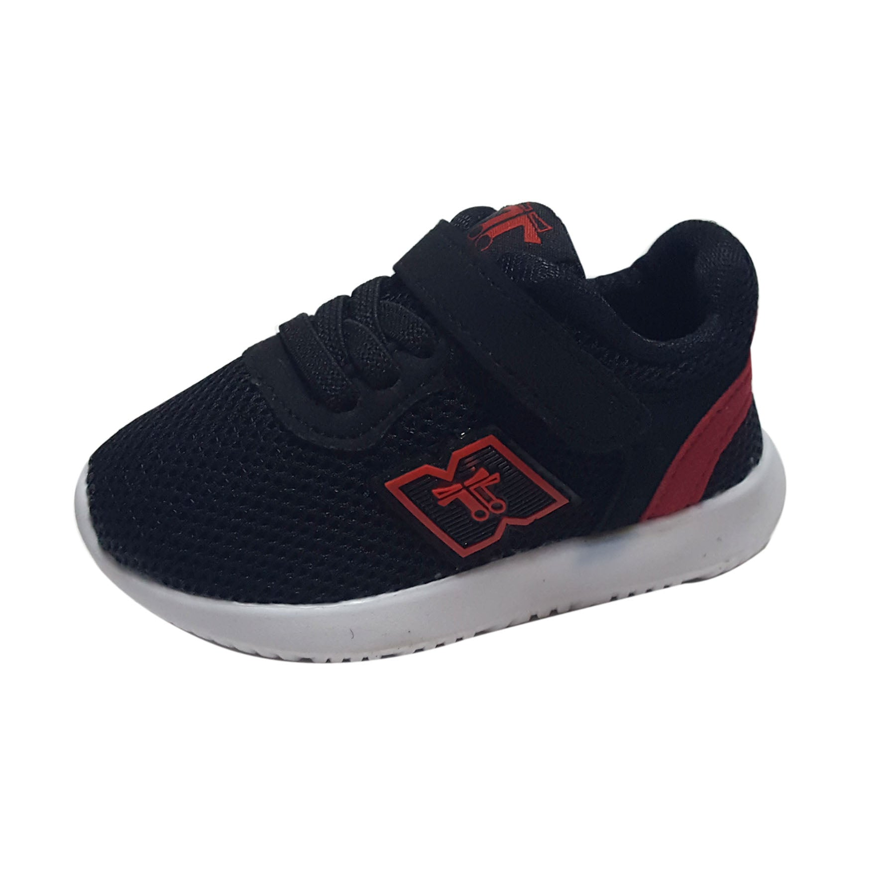 S177 Raf Raf Sports Shoes - Travis Black/Red New!