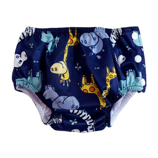 Lightweight Swim Diaper - Safari