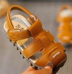 TL84 Leather Sandals Brown (EU21-30)