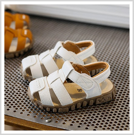 TL84 Leather Sandals White (EU21-30)