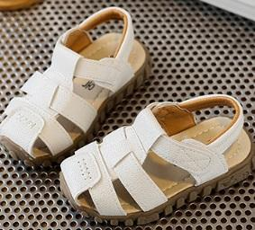 TL84 Leather Sandals White Special Offer