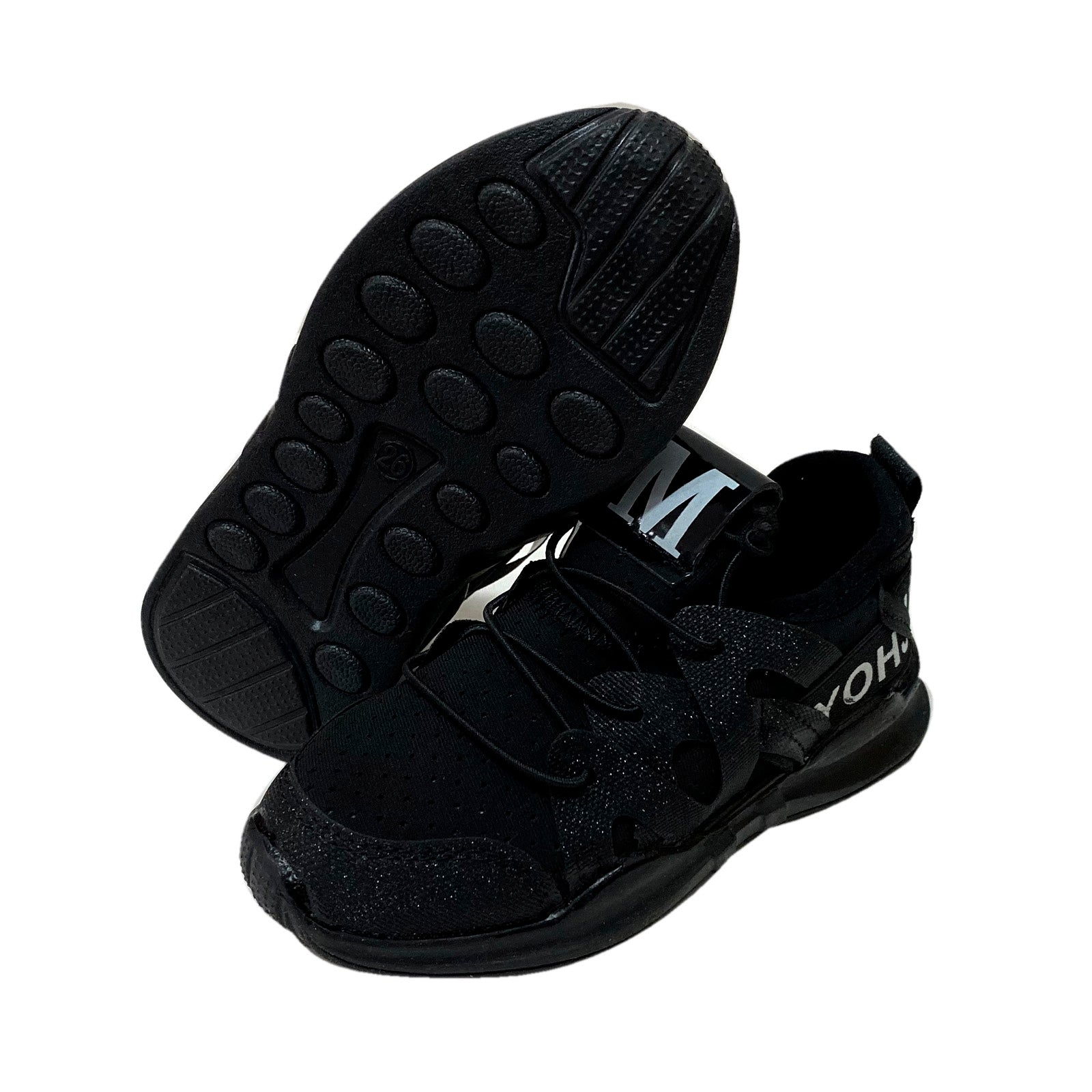 S181 Raf Raf Sports Shoes - Yugito Black New!
