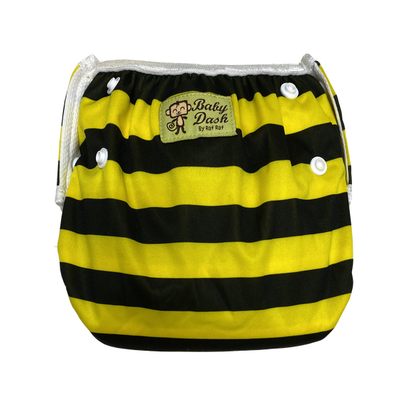 Size Adjustable Swim Diaper - Bumblebee