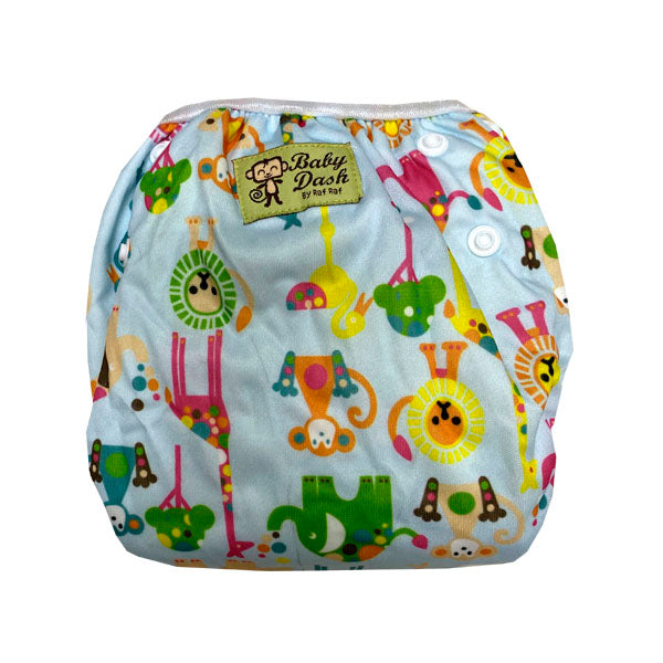 Size Adjustable Swim Diaper - Forest Animals