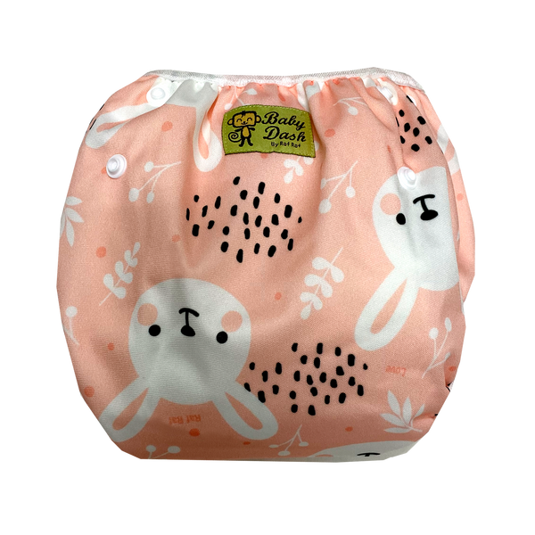 Size Adjustable Swim Diaper - Bunny