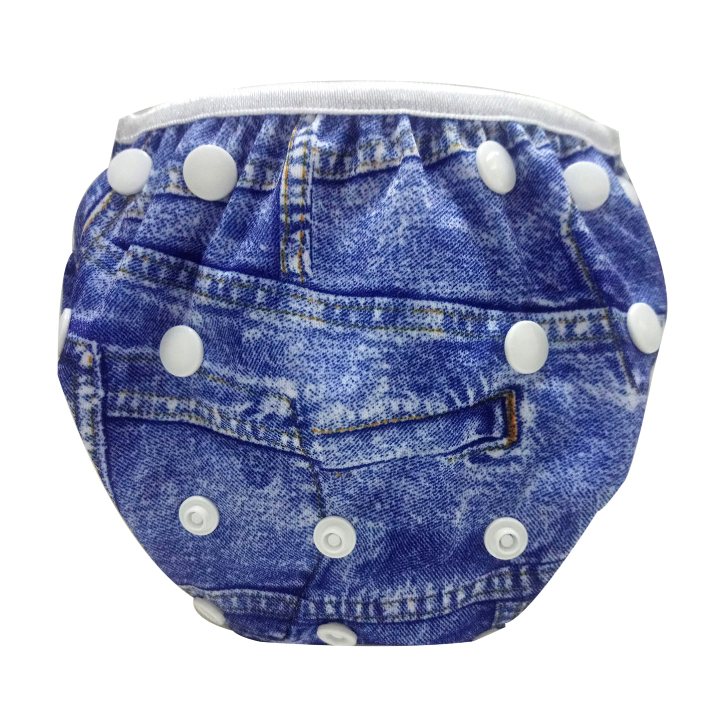 Size Adjustable Swim Diaper - Jeans (Buy 1 Get 1 Free)