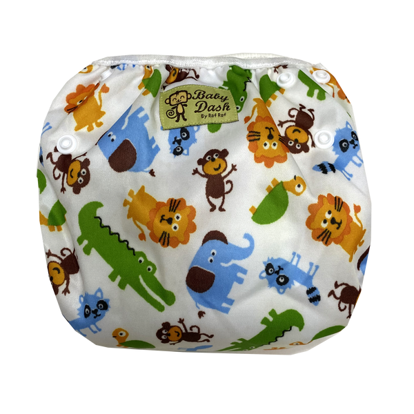 Size Adjustable Swim Diaper - Jungle