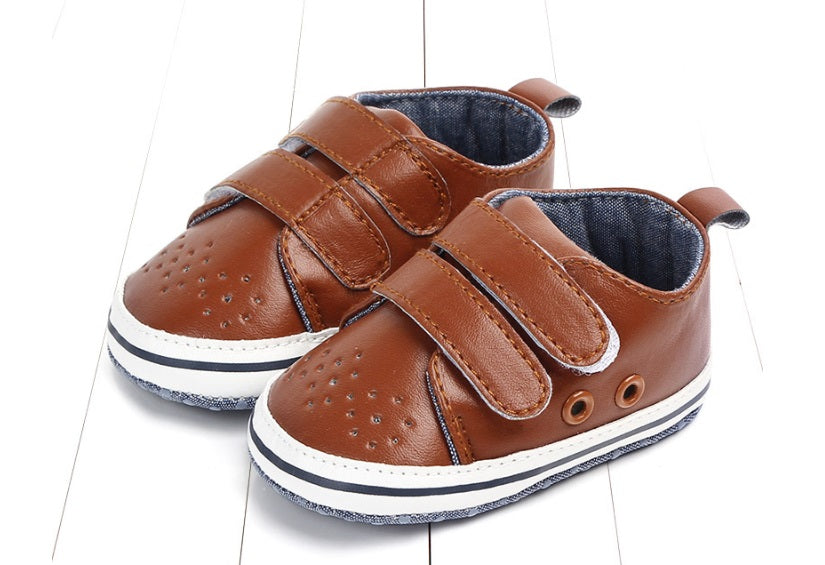 Finley (Pre-Walker Baby Shoes) - B101 Brown Special Offer
