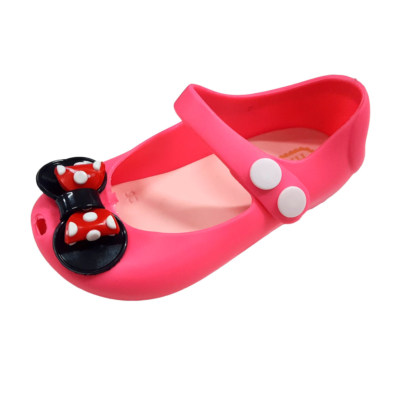 T096 Minnie Ribbon Pink (1-4y) New!