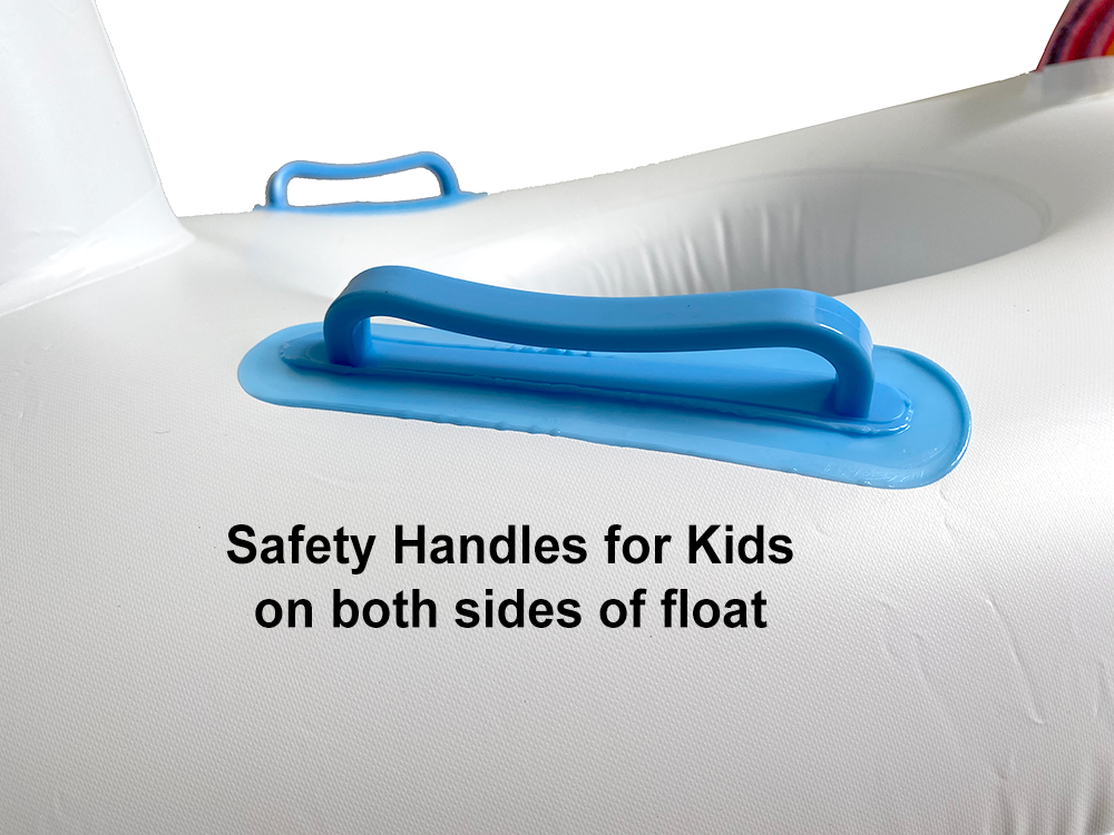 Inflatable Swimming Float with Handles (Toddlers/Kids)
