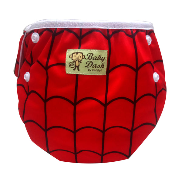 Size Adjustable Swim Diaper - Spidey