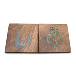 Set of Four Magic The Gathering Coasters