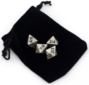 Tarmogoyf D8 Set Of Four - Resin