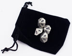 Set Of 4 Poison D10 Metal Dice