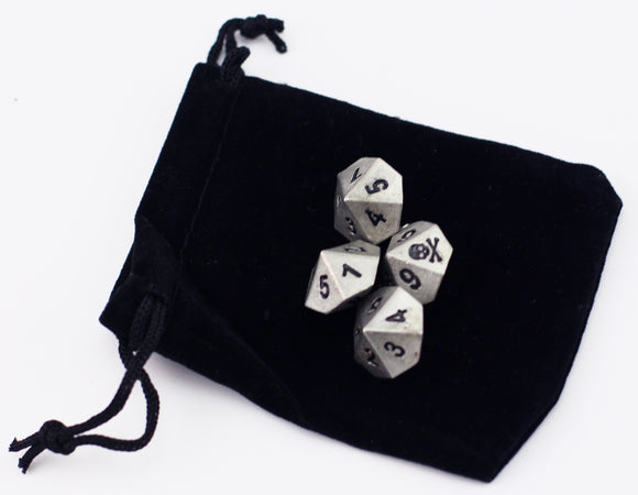 Set Of 4 Poison D10 - Resin