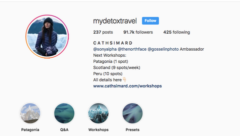 popular photographers on instagram mydetoxtravel