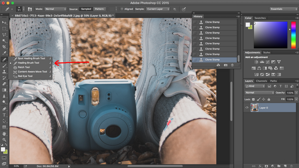 How to remove logos from photos in under five minutes