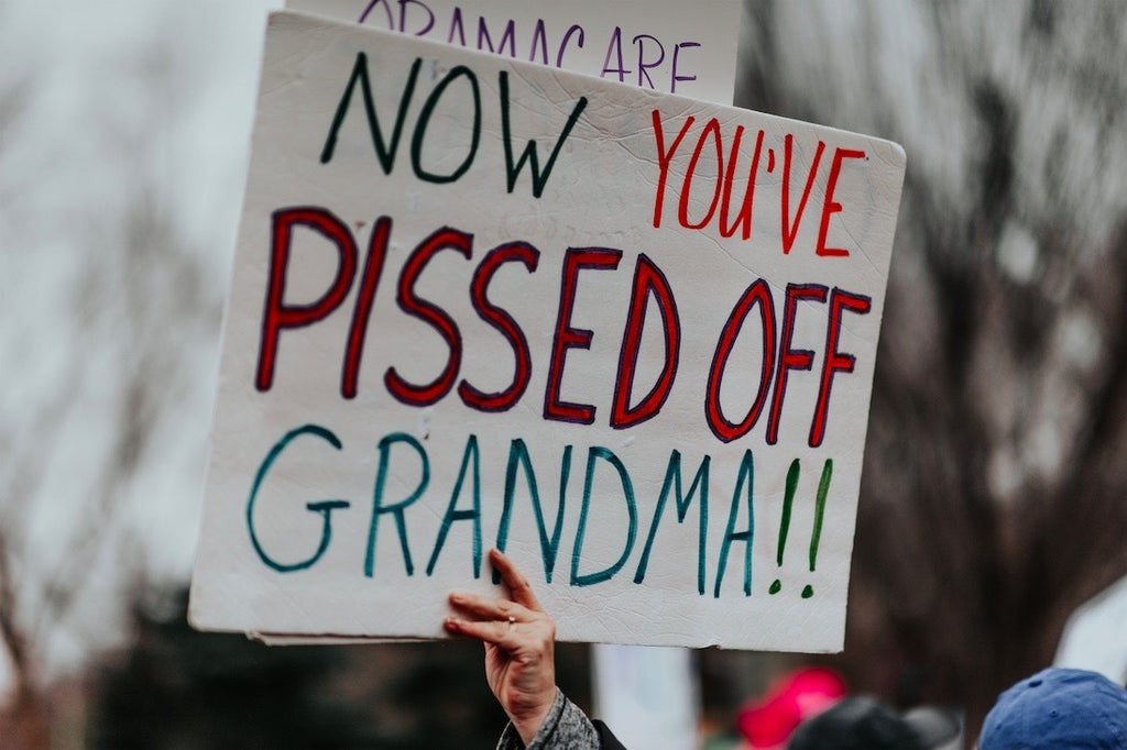 One Pissed-Off Grandma