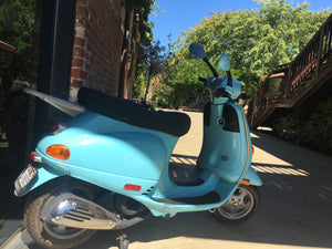 My Blue Vespa