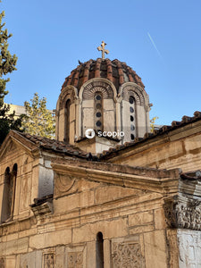 Greek Orthodox Church in Athens downtown Greece