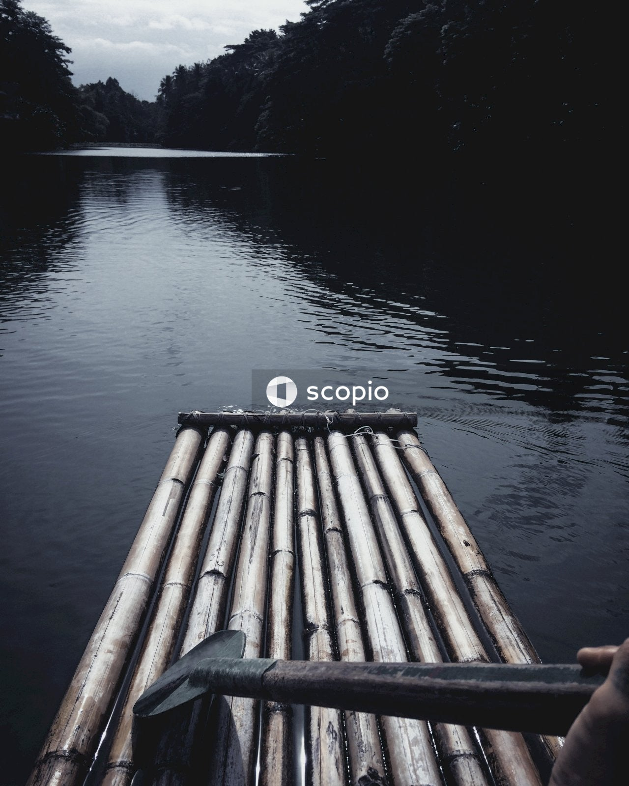 Brown wooden dock on lake