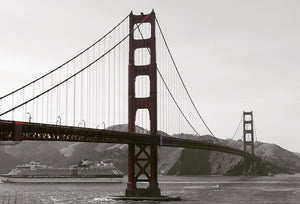 Golden Gate In Art Deco