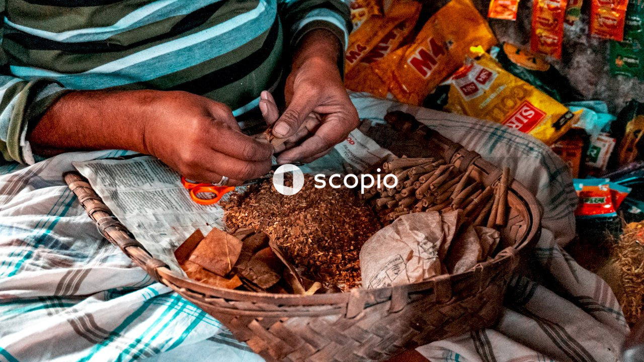 Person holding brown dried food