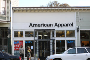 We Miss You, American Apparel!