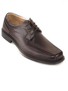 A13319 Coffee Mens Dress Shoes - HeavyDutyWorkBoots
