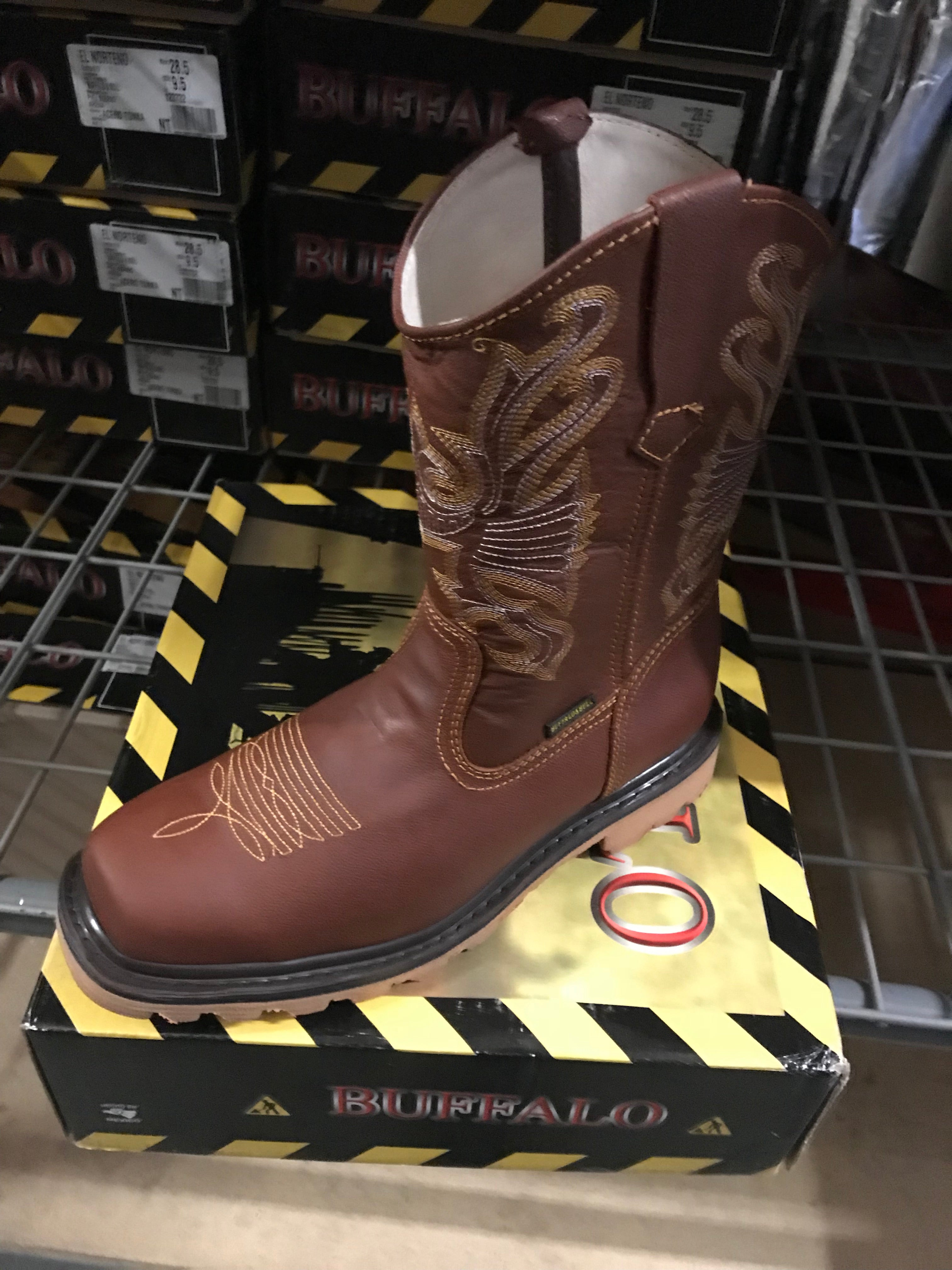 Buffalo Shedron Steel Toe Work Boots - HeavyDutyWorkBoots