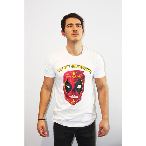 Deadpool Day of the Dead T Shirt