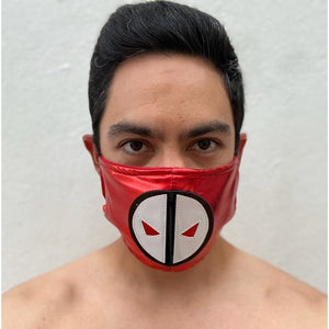 Deadpool Face Mask - Mexican Wrestling Masks - Lucha Libre Mask