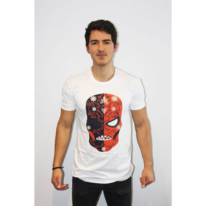 Deathstroke Day of the Dead T Shirt - Mexican Wrestling Masks - Lucha Libre Mask