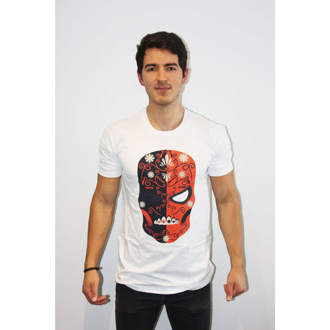 Deathstroke Day of the Dead T Shirt - Mexican Wrestling Masks
