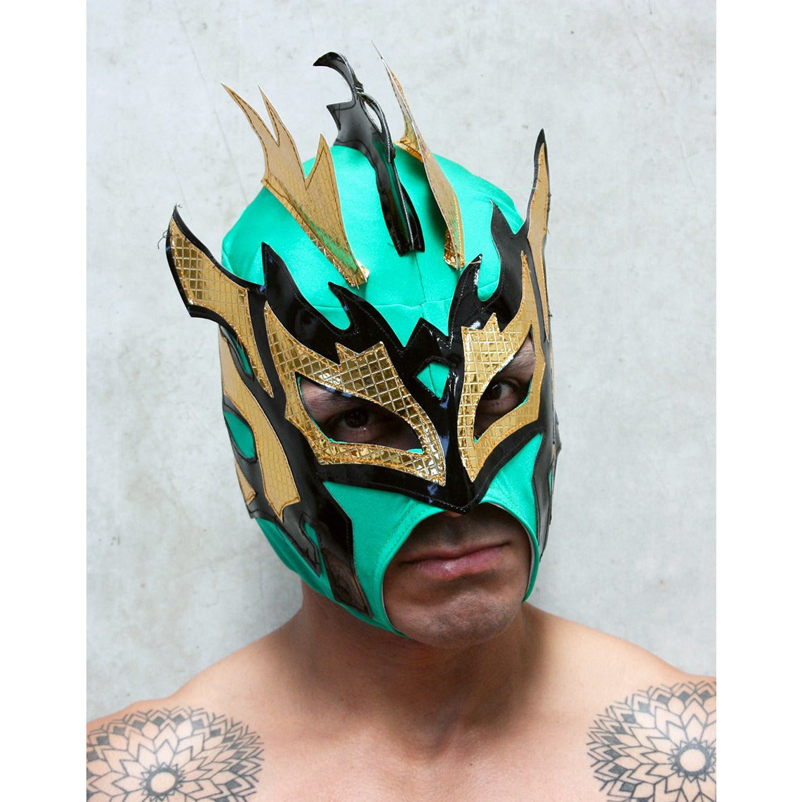Kalisto 2 Mask - Mexican Wrestling Masks - Lucha Libre Mask