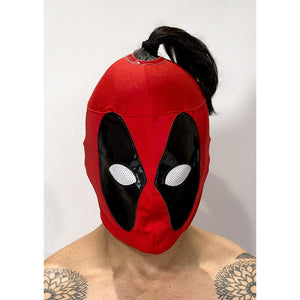 Lady Deadpool Mask 2 - Mexican Wrestling Masks - Lucha Libre Mask