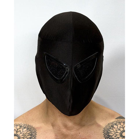 Black Mask - Mexican Wrestling Masks - Lucha Libre Mask