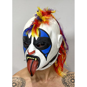 Psycho Clown Mask - Mexican Wrestling Masks - Lucha Libre Mask