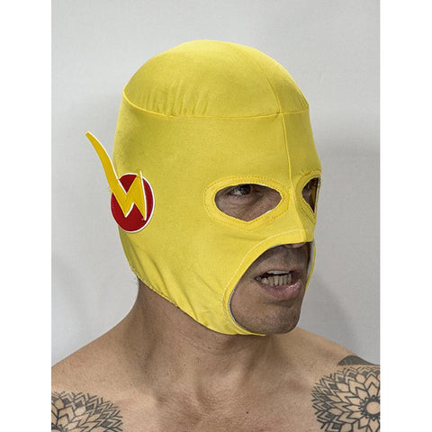 Reverse Flash Mask 2 - Mexican Wrestling Masks - Lucha Libre Mask