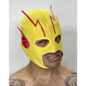 Reverse Flash Mask - Mexican Wrestling Masks - Lucha Libre Mask
