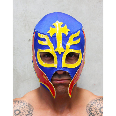 Rey Mysterio 34 Mask - Mexican Wrestling Masks - Lucha Libre Mask