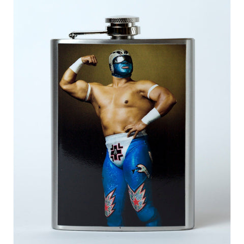 Luchador 1 Flask - Mexican Wrestling Masks - Lucha Libre Mask