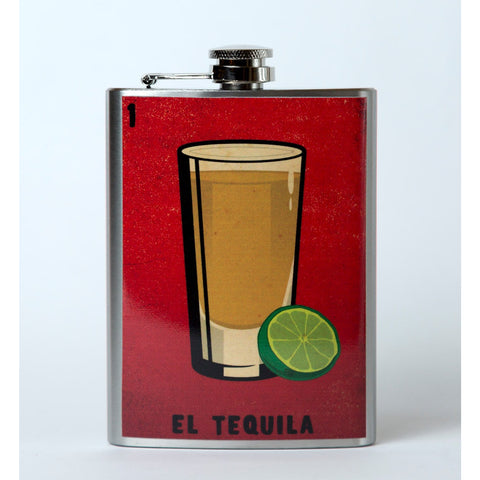 El Tequila Flask - Mexican Wrestling Masks - Lucha Libre Mask