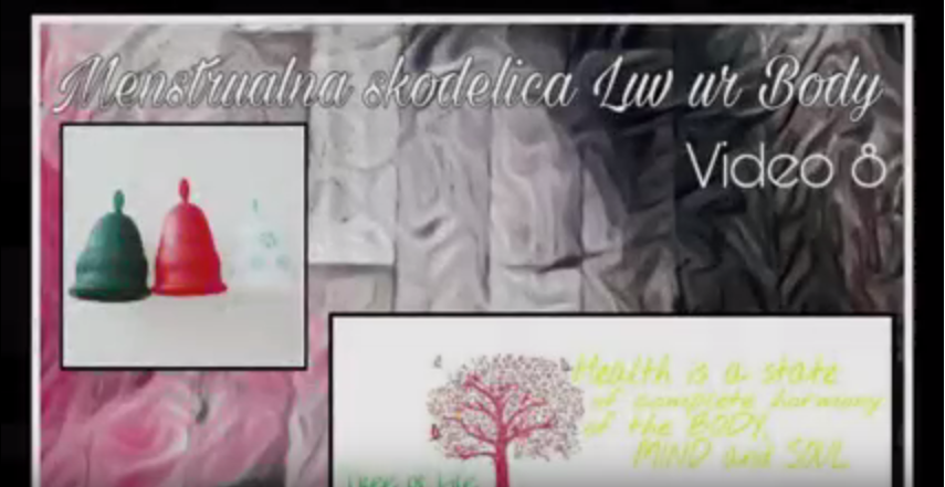 Menstrualna Skodelica Luv Ur Body (Slovenian Review)