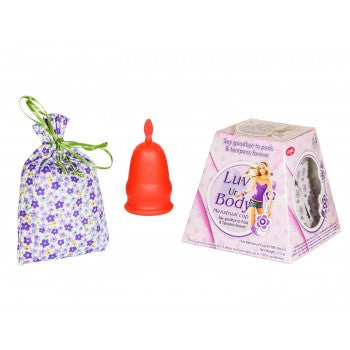Menstrual Cups - Medium Sized Red Cup